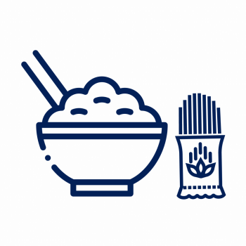 Arroz, granos y pastas